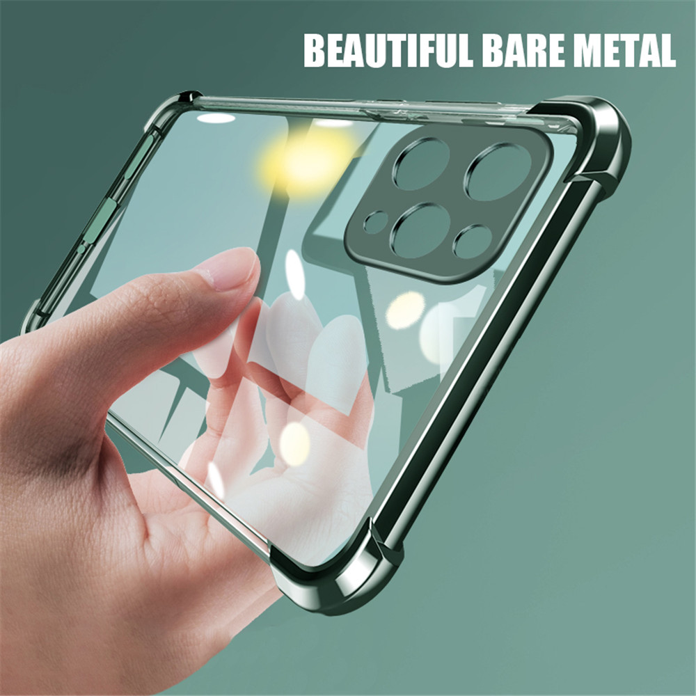 Transparent Plating Soft TPU Phone Case For iPhone 11 Pro XS Max SE 2020 XR X 8 7 6 6S Plus Ultra Thin Clear Silicone Back Cover