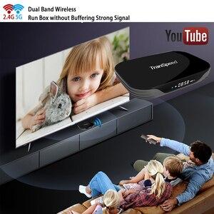 Image 2 - Transpeed X3 空気アンドロイド 9.0 テレビボックス 8 18k 4 18k超xdr youtube 1000 メートルwifi amlogic S905X3 4 ギガバイト 32 ギガバイト 64 ギガバイト 128 ギガバイトtvボックス