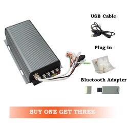 Controlador MQ Sabvoton SVMC72150 72V 150A compatible con el motor eléctrico de cubo BLDC, incluido el adaptador bluetooth