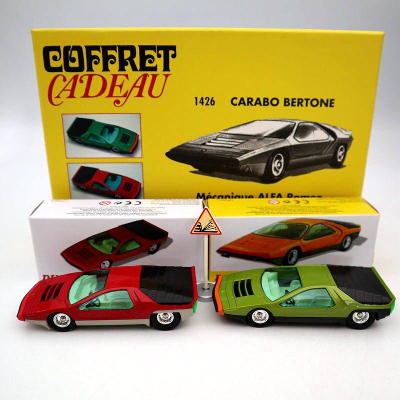 Atlas Dinky Toys SET 1426 1426P Carabo Bertone Mecanique Alfa Romeo Diecast Car Models
