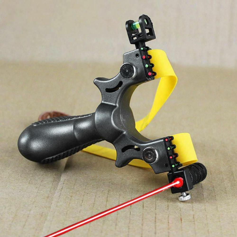 Hunting Slingshot with Laser Sight 4