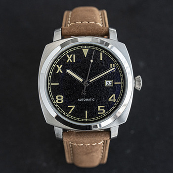 Automatic mechanical men sport watch Luxury Military watches Nh35 japan movement Top brand Stainless steel wristwatch luminous 9