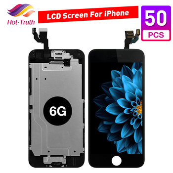 50 pcs For iPhone 6 6G A1549 A1586 A1589 A1522 LCD Full Assembly Touch lcd Screen Replacement Display Digitizer Free Shipping image