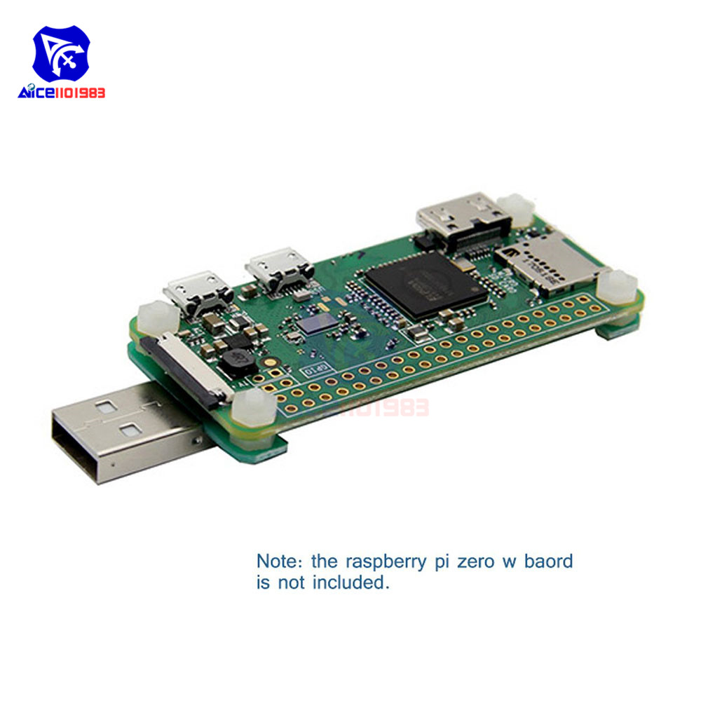 Diymore Raspberry Expansion Board Pi Zero W USB-A Addon Board V1.1 For Raspberry Pi Zero Raspberry Pi Zero W With Screws