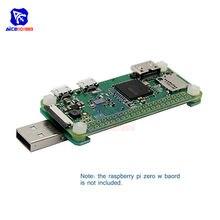 Diymore placa de expansão raspberry pi zero w, placa de addon v1.1 para raspberry pi zero raspberry pi zero w com parafusos, parafusos