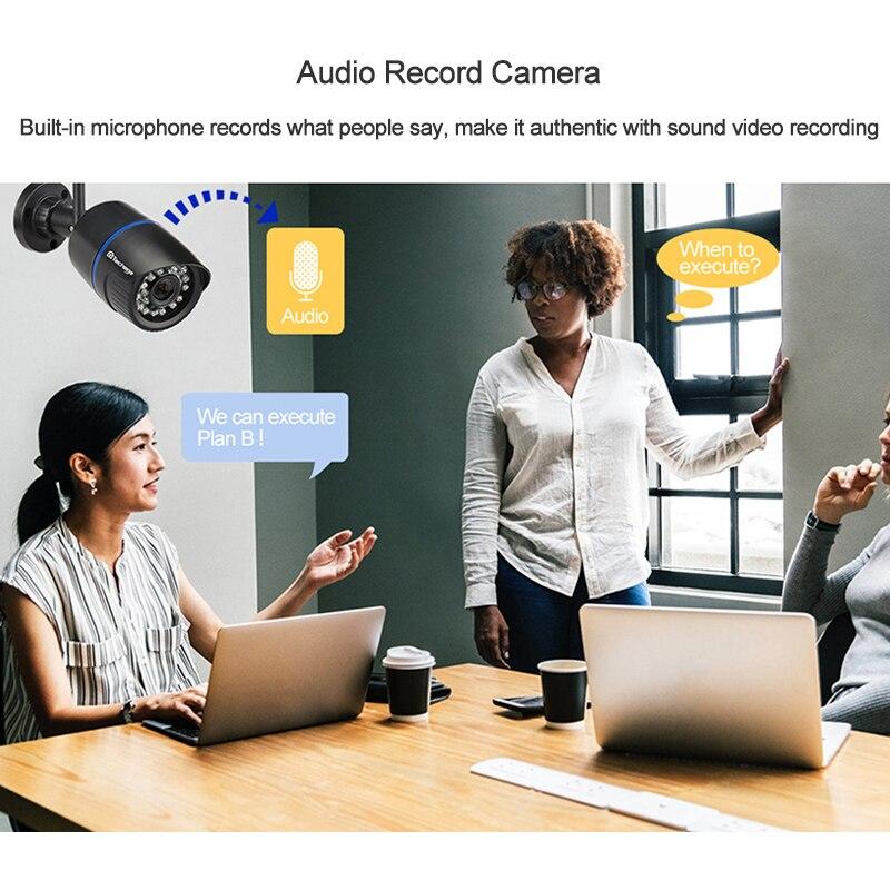 1080P 2MP Wireless IP Camera IR Night Vision Audio Record P2P Onvif Video Security Wifi Camera 1080P 2MP Wireless IP Camera IR Night Vision Audio Record P2P Onvif Video Security Wifi Camera Outdoor CCTV Surveillance TF Card