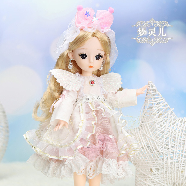 12 Inches Princess 30cm Joints BJD Suit Series Doll Toys for Girls Children Birthday Christmas Gifts 5