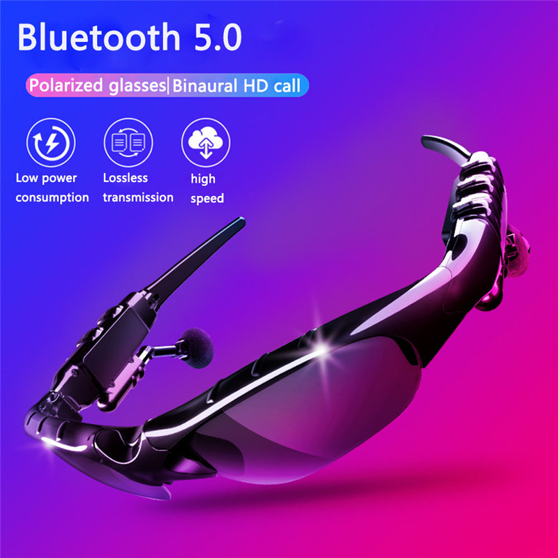 Bluetooth Cycling Eyewear Sunglasses Polarized Men Motorcycling Sport Sunglasses MP3 Phone Bicycle Outdoor Sport Running Glasses