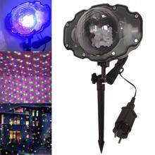 Projector Lights RGBW  LED Mini Snow Light Stage Light Spotlight Laser Light for Christmas / Indoor / Outdoor / Decoration