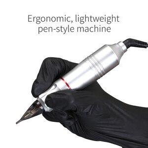 Image 5 - المهنية الوشم ماكينة دوارة القلم بهدوء موتور يشكلون لوازم العلامة التجارية البنادق