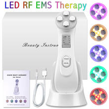 RF EMS Therapy SPA Face Colors Photon Lamp Treatment LED Beauty Light Skin Lifting Tighten Mask Anti Facial Wrinkle Microcurrent