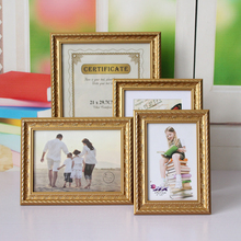 Multi-size Europe Style Photo Frame Graduation Birthday Wedding Anniversary Vintage Picture Frame Room Home Decor D30 giftgarden 5x7 silver alloy classic crown photo frames vintage picture frame table decoration anniversary gift wedding decor