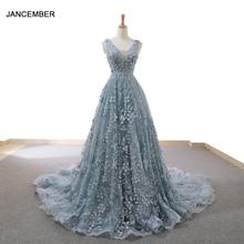 RSM66729 신부 드레스 2020 섹시한 간단한 이브닝 드레스 숙녀의 저렴한 저녁 파티 드레스 긴 v 목 민소매 라인 어머니