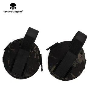 Image 3 - Emersongear Tactical spalla armatura Pad protezione spalla armatura custodia per AVS CPC Vest accessori 2 pezzi esercito equipaggiamento militare