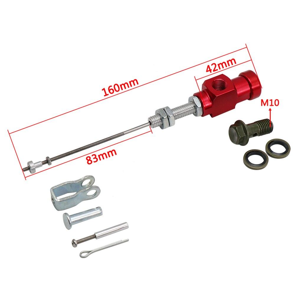 10mm Rear Brake Hydraulic Master Cylinder Pump For ATV Quad Pit Dirt bike Buggy