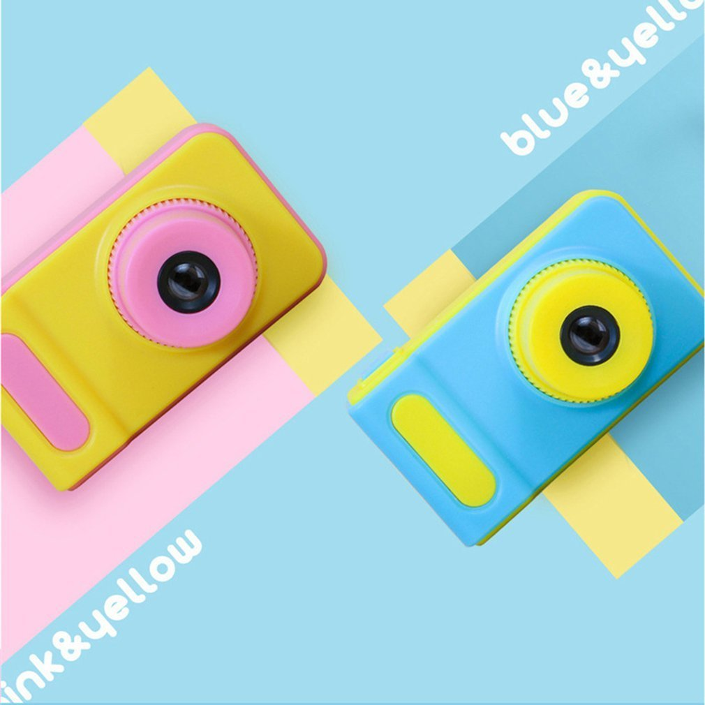 2 Inch 8MP 1080p Mini Cam Digital Camera For Kids Baby Cute Cartoon Multifunctional Toy Camera Kids Toys