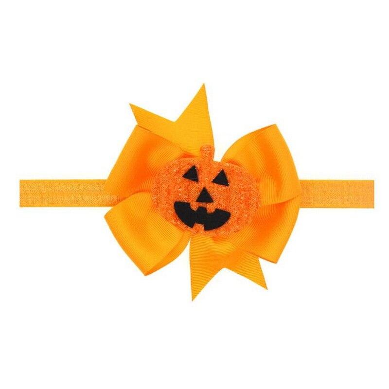Купить с кэшбэком Halloween Orange Girls Tutu Dress Princess Girl Performance Birthday Party Dress Children Kids Cosplay Pumpkin Costume Headband