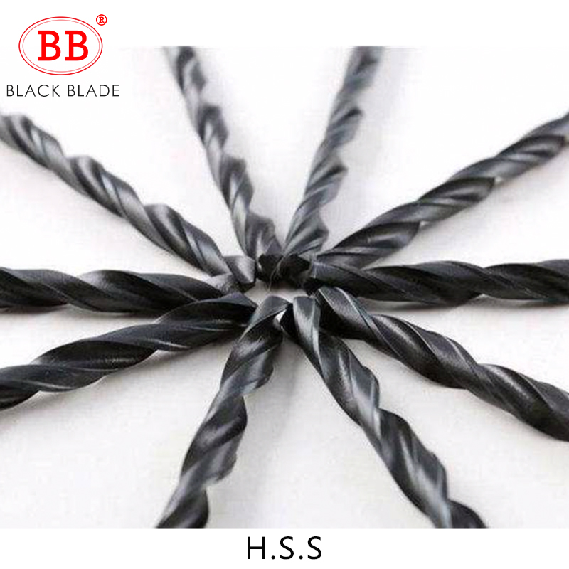 BB Twist Drill Bit HSS Black Oxide Tiny Micro Mini Diameter 0.2mm~20mm Hole 10PCS For Metal Wood PVC