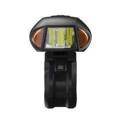 Rower USB akumulator inteligentny pilot światła Mountain Bike przeciwodblaskowe reflektory Outdoor Night wyposażenie do jazdy w Oświetlenie rowerowe od Sport i rozrywka na