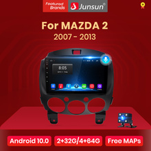 Junsun V1 Android 10 2G+32G DSP 4G Car Radio Multimedia For MAZDA 2 Mazda2 2007-2013 Navigation GPS 2din 2 din no DVD autoradio