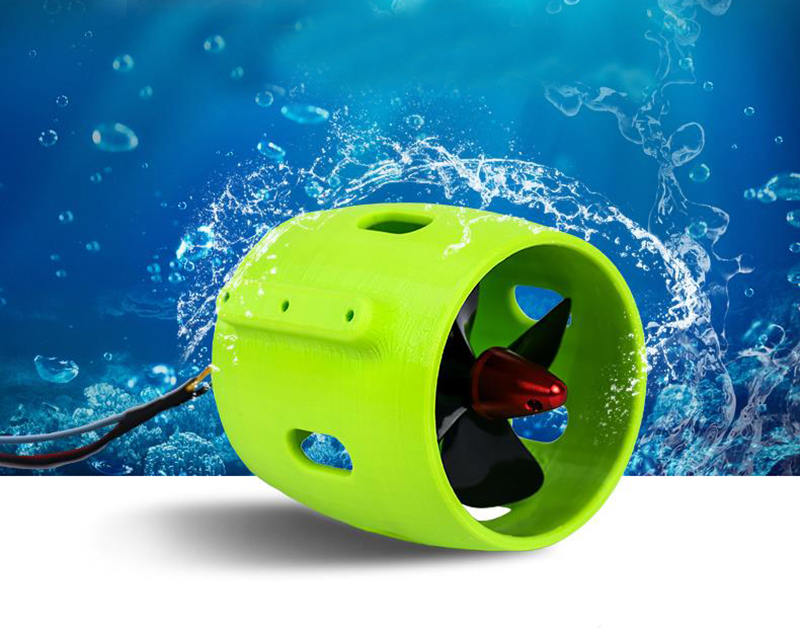 Bait Boat Waterjet DC12-24V Water Thruster CW CCW Underwater Sprayer Pump Waterproof Water Jet Pumps For RC Boats Modified Part