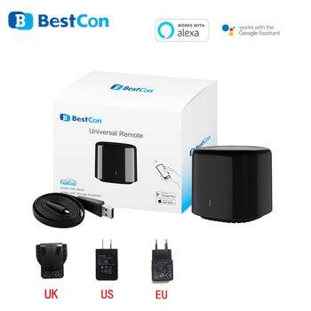 Nieuwste Broadlink Bestcon RM4C mini Universele 3G 4G Wifi IR Mini MANDO A Compatibel Alexa Google asistente Voor AC
