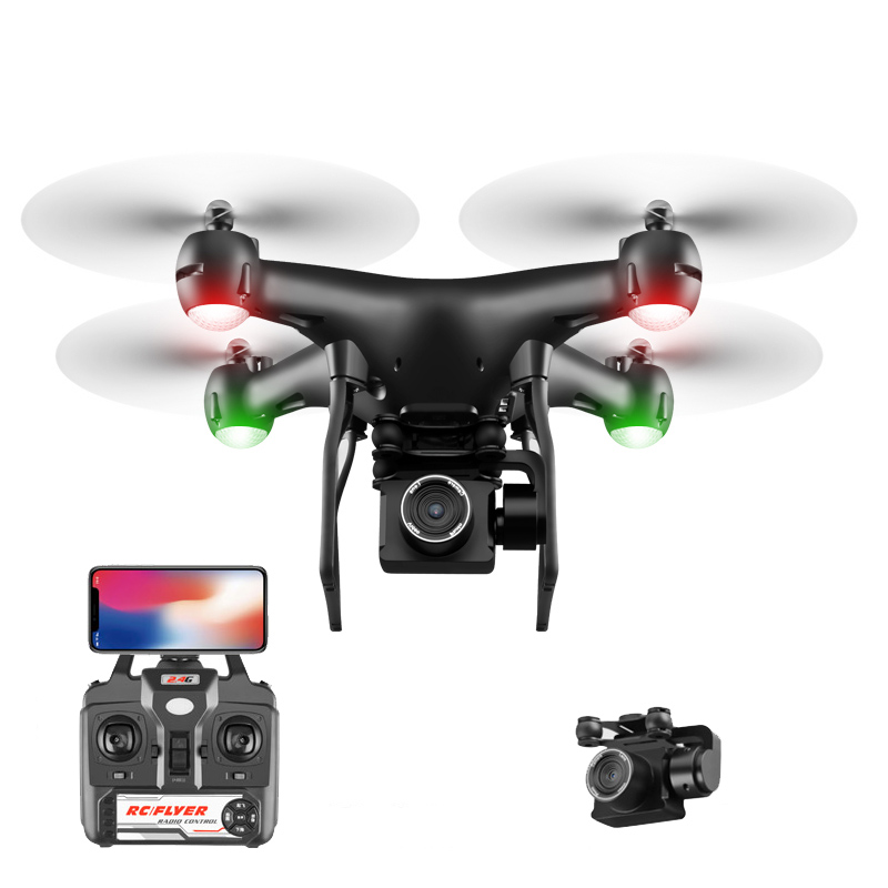 RC Drone ESC Camera HD 4K WIFI FPV Altitude Hold Quadcopter Dron Headless Mode Selife Drone Remote Control Helicopter Aircraft