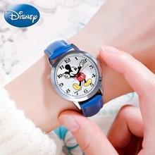 New Mickey mouse cuties cartoon watch Boy girl love fashion waterproof wristwatch Student young sports DISNEY brand 11027 clock