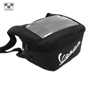 Image 3 - Motorcycle Handlebar Bag, Fuel Tank Bags, Windshield Headphone Bag For Vespa Gts 250 300 Sprint 50 150 Etc.