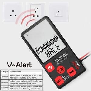 Image 5 - BSIDE ADMS7 Bút Thử Điện Áp 3.5 Màn Hình Lớn LCD Kỹ Thuật Số Thông Minh Đồng Hồ Đo Vạn Năng 3 Dòng Hiển Thị TRMS 6000 Tính DMM Với analog Bargraph