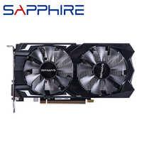 Saphir RX 560 4GB carte vidéo GPU Radeon RX 560D 4G RX560 RX560D cartes graphiques jeu d'ordinateur pour carte vidéo AMD carte HDMI PCI-E