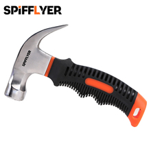 8 oz Mini Multitool Hammer Magnetic Nail Hammer Small Hammers Multifunctional Stubby Claw Hammer Short Framing Hammer Tool bosi persian tool fiberglass handle fitter electrician hammer small hammer hammer escape hammer pliers bs g302a specials rasp dr