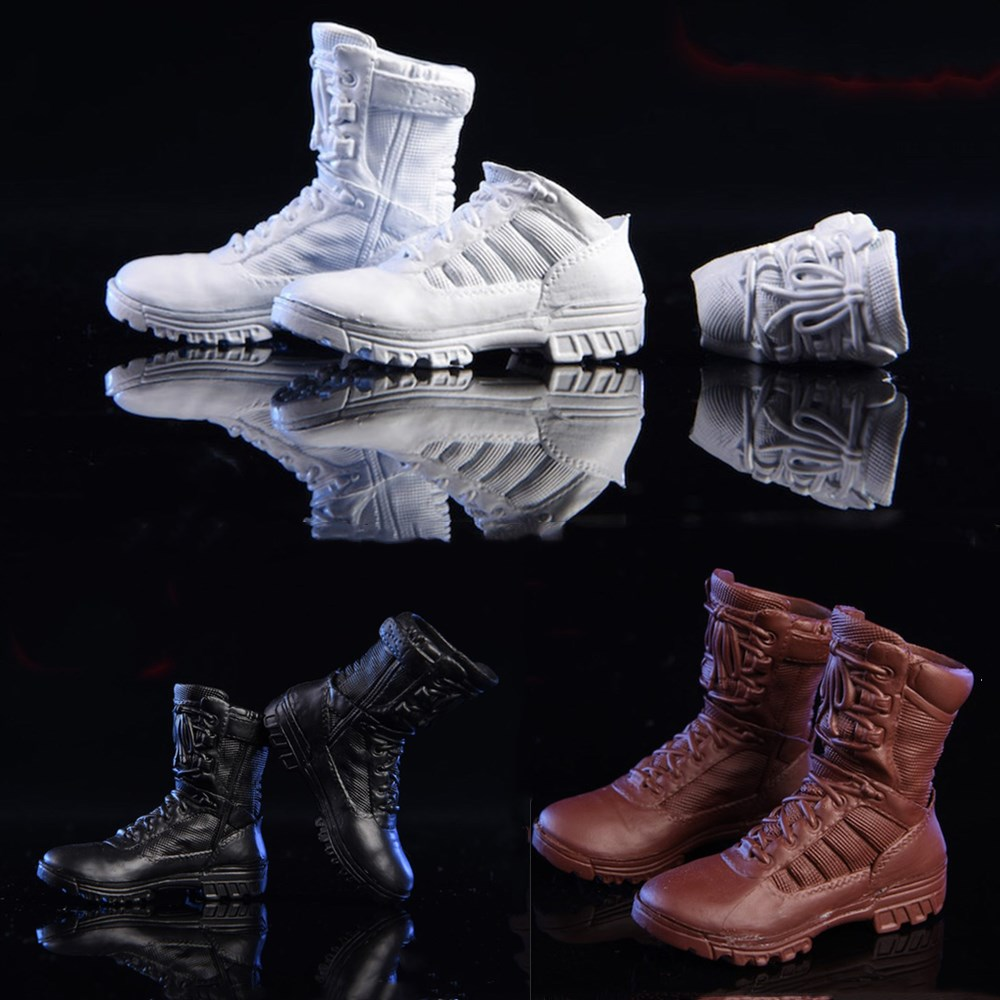NRTOYS NR017 1/6 Sports Boots Mountaineering Boot Science Fiction Tactical Boots Prop For 12inch Action Figure DIY