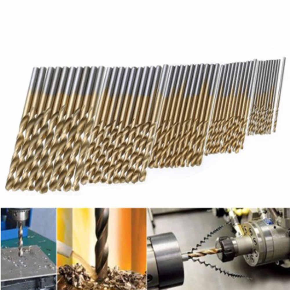 Nhiều Loại Thép Tốc Độ Cao Titanium Bọc Xoắn Mũi Thẳng Vít Hơi Cầm Tay