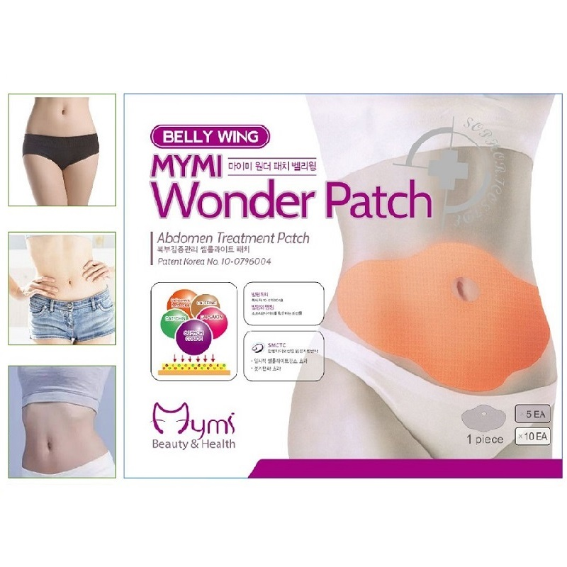 5 Pieces/ Box Slimming Patch New Belly Abdomen Weight Loss Fat Burning Slim Patch 100 Natural Ingredients