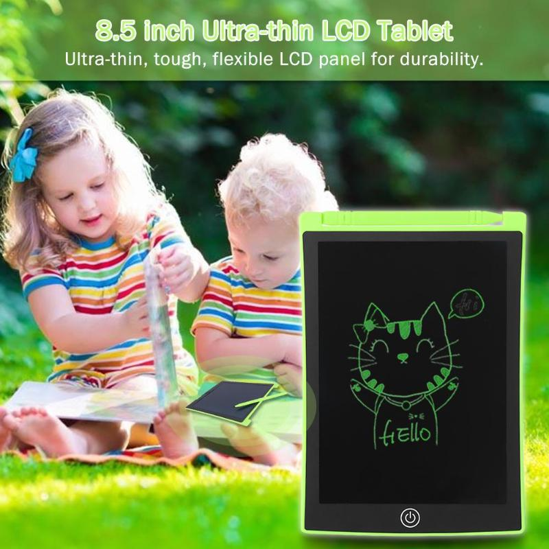 8.5 Inch LCD Writing Board Ultra-thin E-writer Tablet Kids Drawing Toys Portable Learning Drawing Board Xmas Gift For Kids