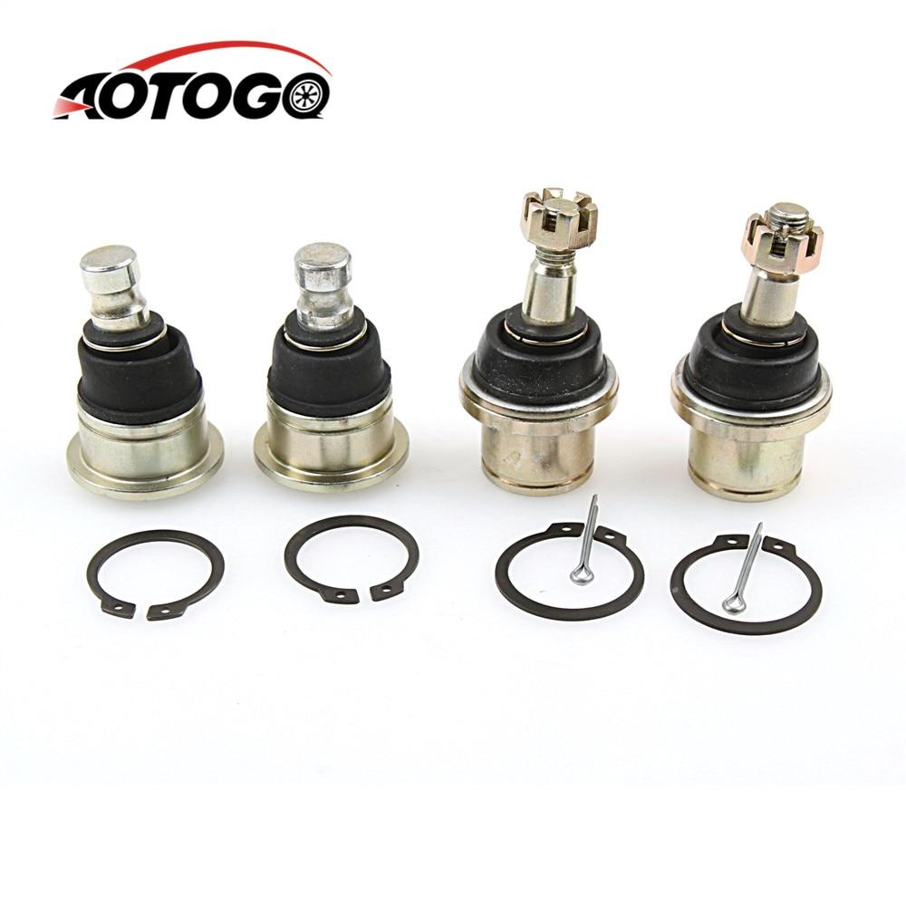 4Sets 14mm 32X12mm Lower ARM Ball Joint Fit For ATV Hisun 500CC 700CC Loncin Quad Bike Parts