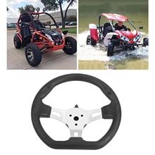 Universal 3-Spoke Steering Wheel for Go Kart Go Cart Scooter Karting Balance Car - 270mm/10.6