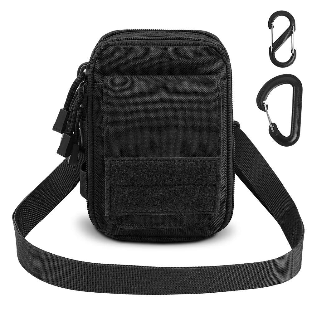 1000D Tactical Molle Pouch Waist Belt Bag Pocket Organizer CellPhone Holster Waterproof Shoulder Pouch EDC Gear Tool Gadget Belt