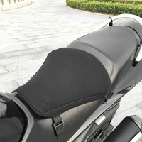 New Motorcycle Cool Seat Cover Seat Protector Cushion 3D Mesh Cushion Cover Sunscreen Mat Air Pad Motorcycle Seat Cushion