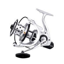 цена на YUYU Sea Fishing Reel Spinning carp fishing Metal Spool 6+1BB reel Catfish fish spinning reel Surfcast reel Fishing Reel