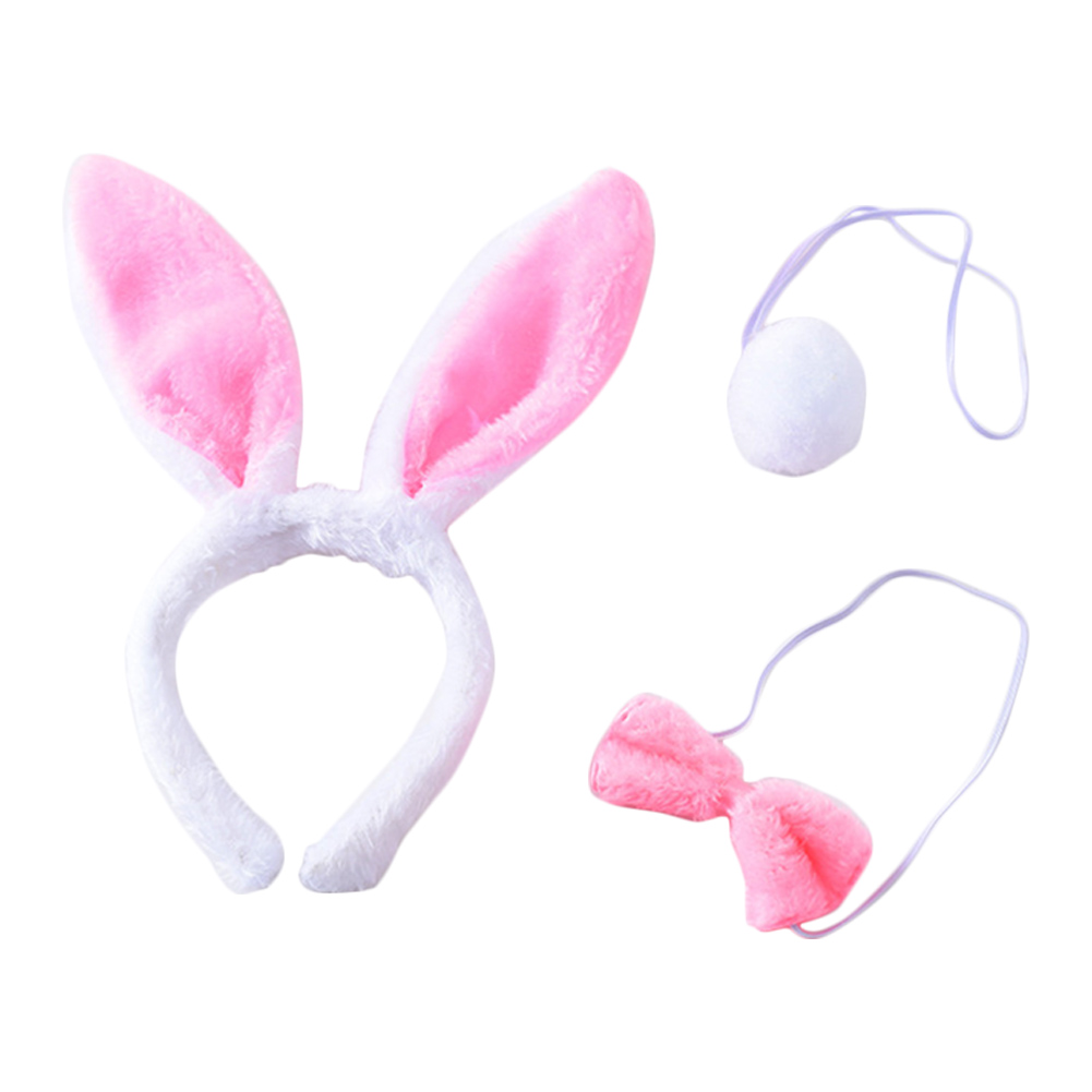 Adult Children Sequins Cute Rabbit Ear Headband for Easter Party Favor or Costume Decoration showsing-baby care Easter Hairband Accessories