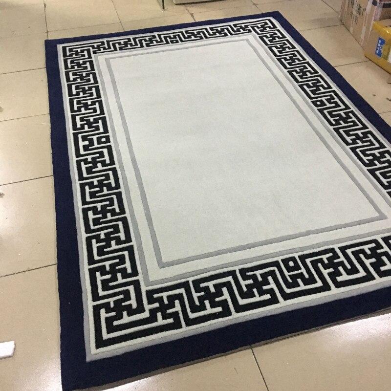 2019 nouvelle haute qualité à la main acrylique tapis chambre/salon ordinateur bureau tapis taille personnalisée