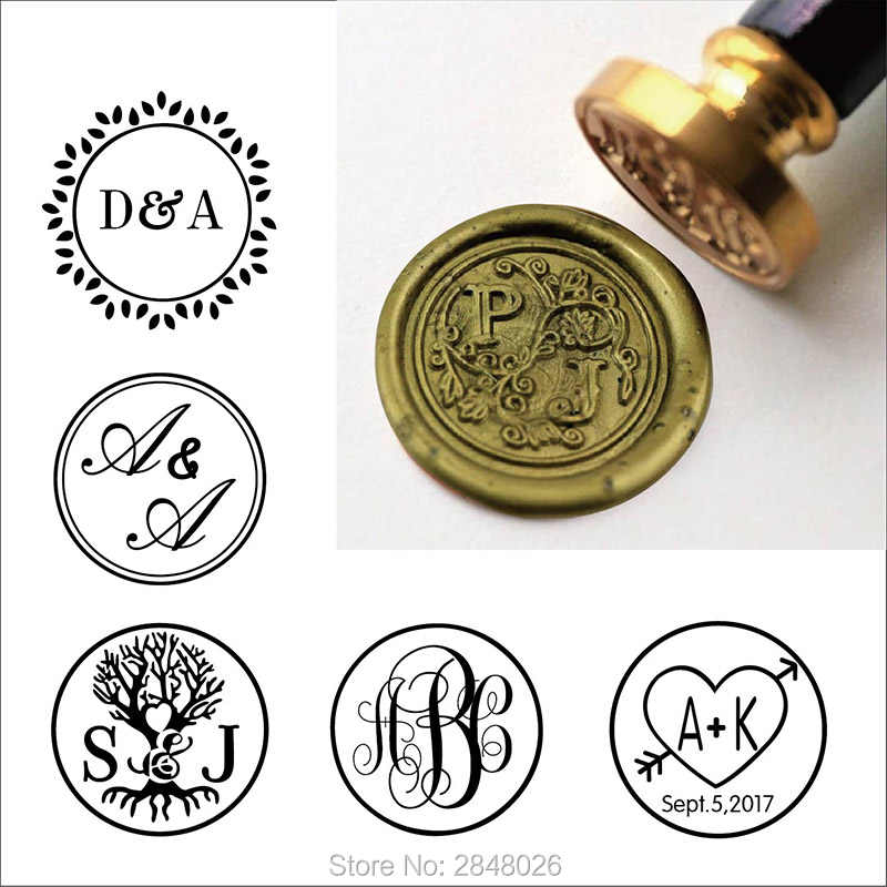 floral sealing wax stamp kit gift for him The life of flower wax seal stamp-custom wax seal stamp kit wedding invitation seals