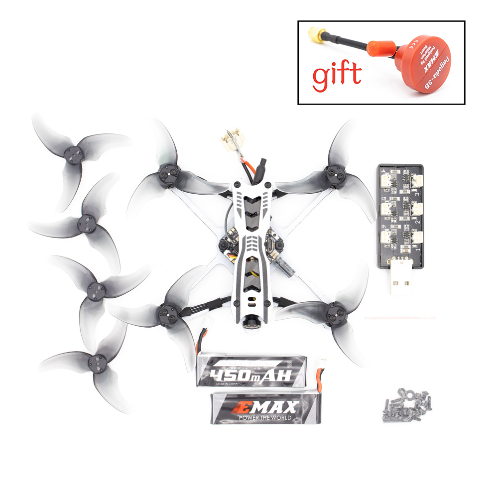 EMAX Tinyhawk Freestyle 115mm F411 <font><b>2S</b></font> 1103 7000KV Brushless <font><b>Motor</b></font> 2.5Inch Fpv Racing Drone BNF with Nano Gift image