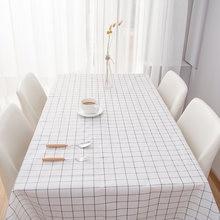 Водостойкая скатерть из ПВХ Настольный коврик кухонный узор