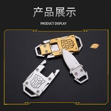Многофункциональный мини складной нож Портативный Тактический Многофункциональный нож для выживания на открытом воздухе Трансформеры Autobot узор