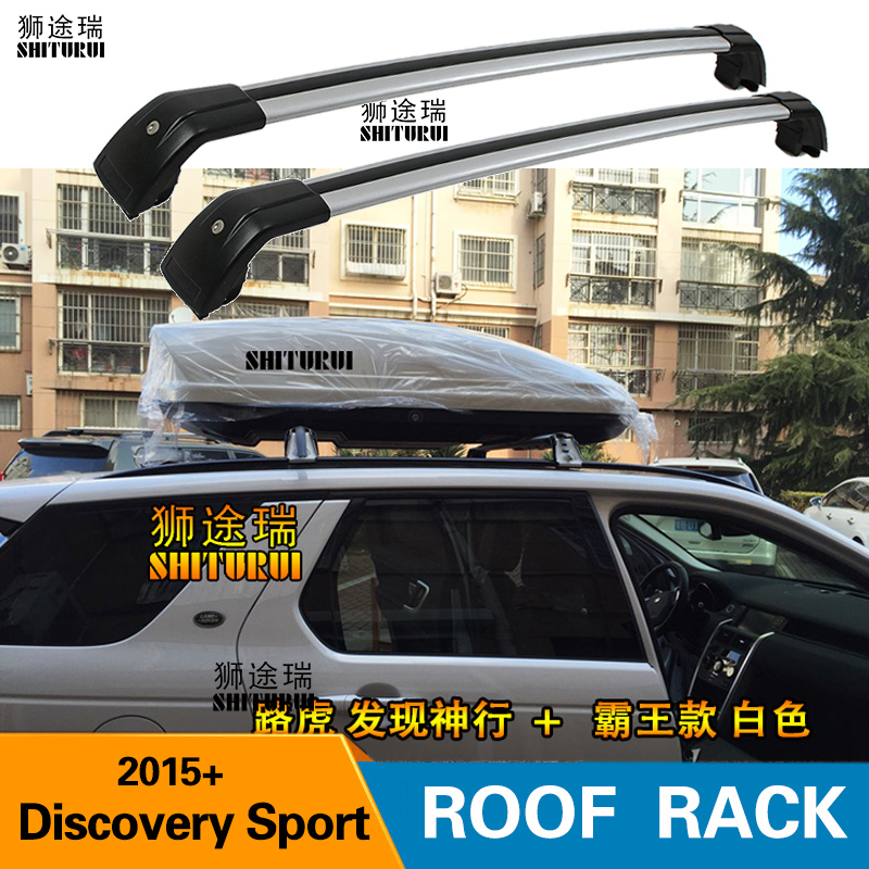 SHITURUI 2Pcs Roof Bars for Land Rover Discovery Sport 2015 2020 SUV  Aluminum Alloy Side Bars Cross Rails Roof Rack Luggage Roof Racks & Boxes     - title=
