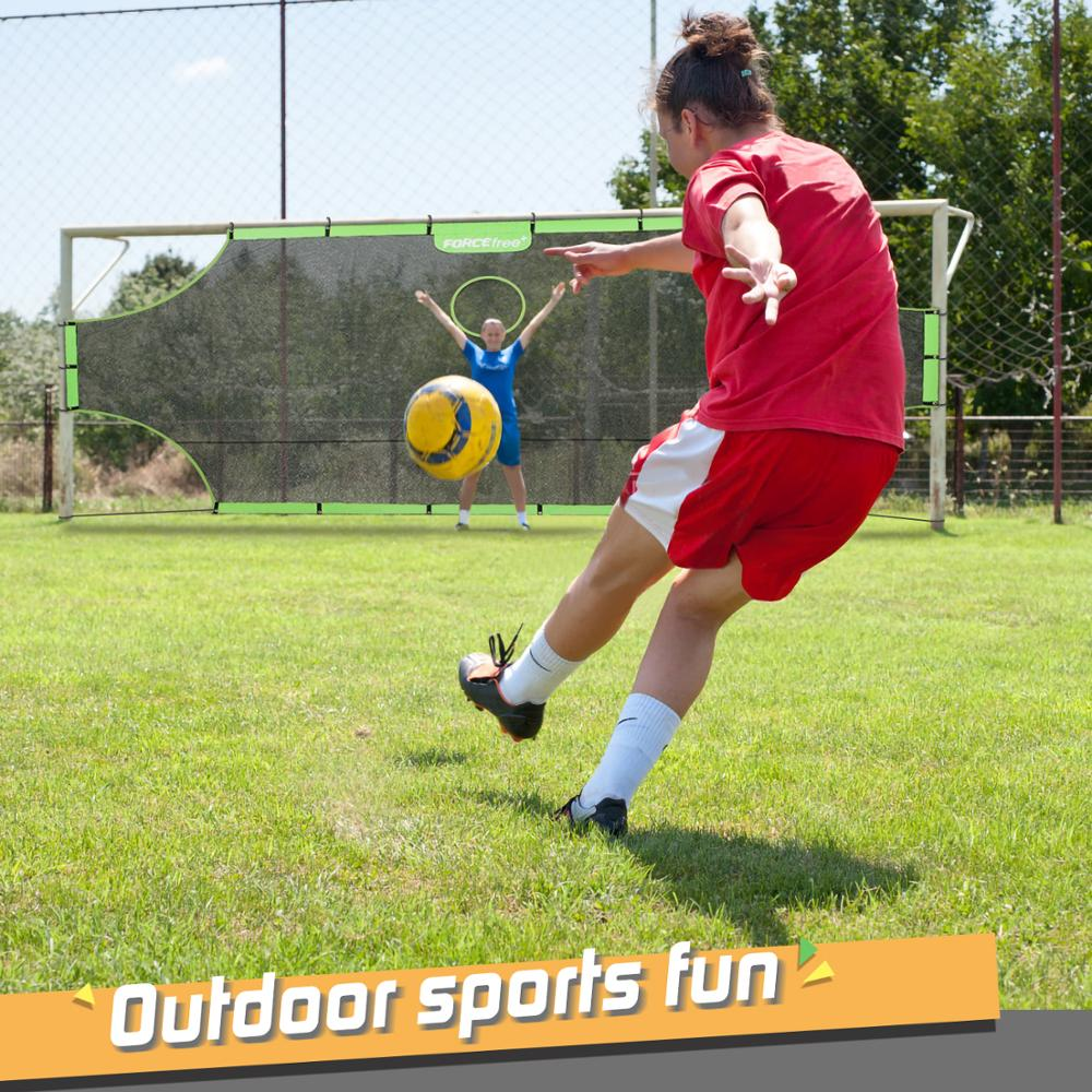 Fordable Soccer Goal Target Nets-with 5 Scoring Zones Extra-Sturdy Portable 3