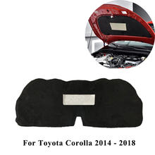 Car Front Hood Engine Sound Heat Insulation Cotton Pad Soundproof Mat Cover Foam For Toyota Corolla 2007-2013 2014-2018 2019